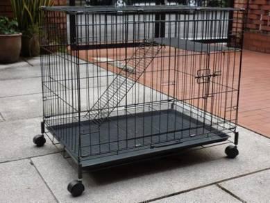 New 2.5 feet Cat Cage 1 Tingkat