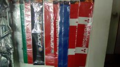 Stiker WINDSCREEN POTONG BRANDED GRED AAA