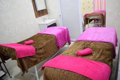 Fully furnish beauty spa
