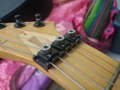 Floyd rose guitar string titanium locking nut