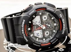 Watch - Casio G SHOCK GA-100-1A4 - ORIGINAL