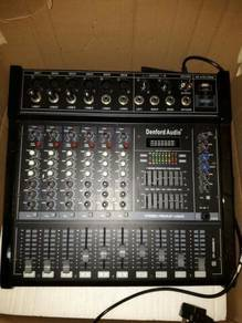 DENFORD AUDIO MIXER 8 CHANNEL 1600WATT (twin fan)