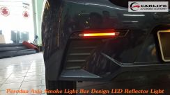 Perodua AXIA Light Bar Rear Bumper LED Reflector