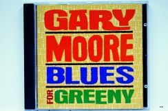 Original CD - GARY MOORE - Blues For Greeny [1995]