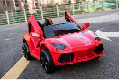 Kereta Elektrik Budak Lamborghini Dengan Remote