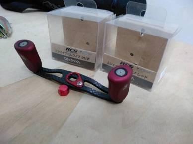 Carbon Fiber BC Handle Set for Daiwa and Abu Garci