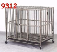 Stainless Steel Dog Cage (9312)