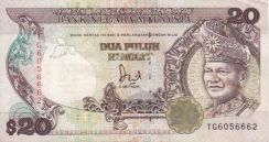 Old Malaysia Currency