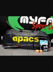 Racket badminton APACS pos boleh raket