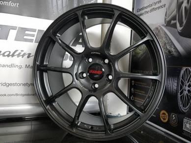 Sport Rim 18x8.5JJ RAYS ZE40 UTK VW CIVIC FC CRZ