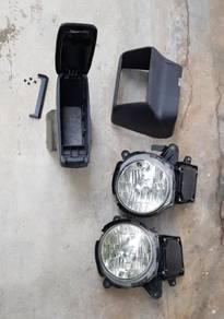 Armrest & lampu L9 hid