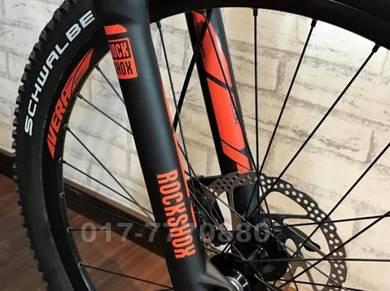 FUJI TAHOE 10SP DEORE XT ROCKSHOX Bicycle BIKE