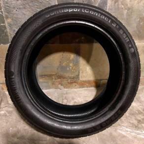 Conti CSC3 Runflat Tyres 275/40/18