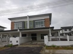 NEW SPACIOUS Double Storey SEMI D at M Gifted 1, Matang
