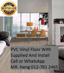 Wood Look PVC 3MM Vinyl Floor se567uj