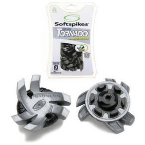 Softspikes Silver Tornado Golf Cleats 18pcs