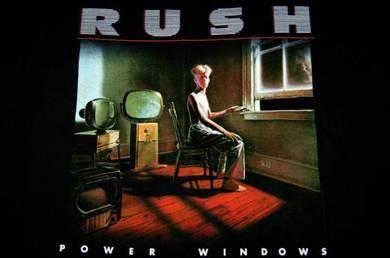 T Shirt RUSH - Power Windows [L] Slim Fit NEW