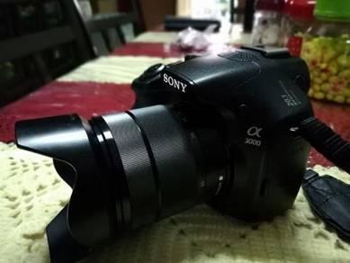 Sony Alpha a3000 (20.1megapixel)
