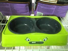 Pet Twin Bowl (S) Green