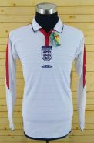 Original jersey england long sleeve size M