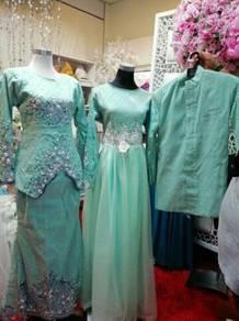 Baju pengantin untuk d letgo