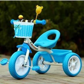 Basikal Kanak-Kanak 3 Roda Stabil Kids Tricycle