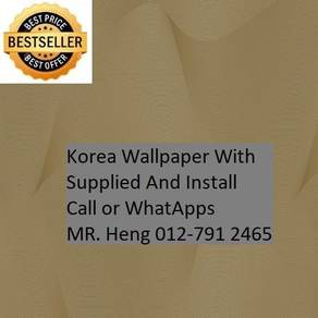 Classic Wall paper with installation jh98