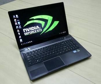 Lenovo y580 i7 gtx laptop