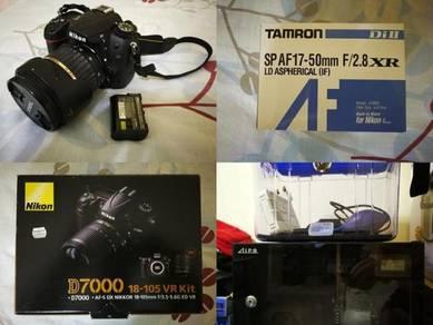 Complete Set DSLR Nikon D7000 Camera