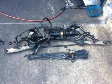 Evo 9 subframe complete steering rack evo 7 8