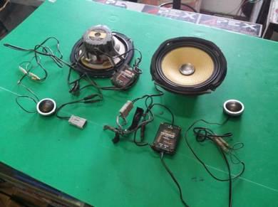 Set speaker component CARROZZERIA TS-C07A