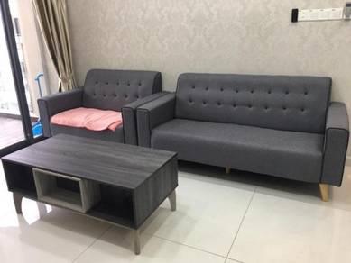 M Condo rumah sewa / Larkin house for rent / Low Depositt / 3bed