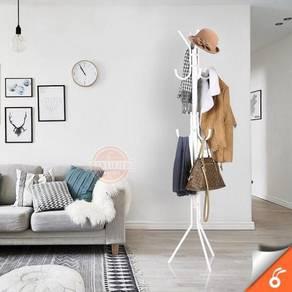 12 hooks hanging pole / stand penyangkut 12
