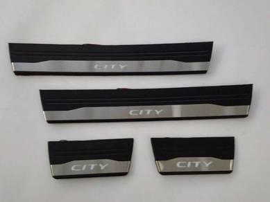 Honda City 2014 Blue Light LED Side Sill Plate