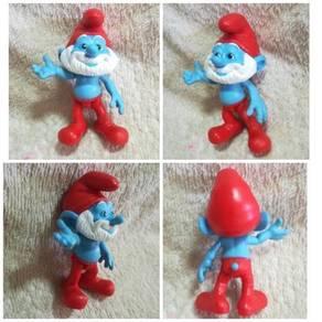 Authentic Peyo Jakks Papa Smurf Figurine