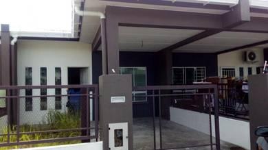 Single Storey House For Rent (NEW)-Taman Nex Residen, Kota Samarahan