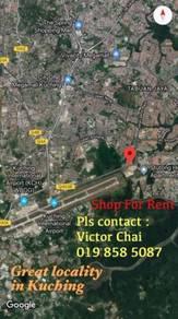 [Great Location]Road side Shop FOR RENT at Jalan Stutong Baru, Kuching