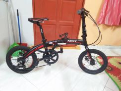 Folding Bicycle TRS 16'