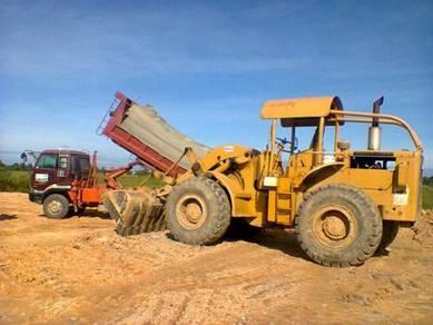 Contraktor timbus tanah dan clearing
