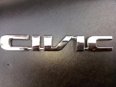 Emblem civic ek