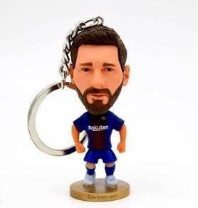 Messi Barcelona Footballer toy Pendant keychain