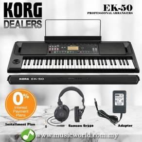 Korg ek-50 digital entertainer keyboard electronic