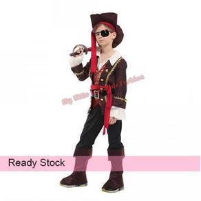 Kids Halloween Luxury Pirate Boy Cosplay Costume