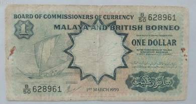 One Dollar Kapal Layar