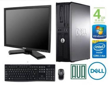 Dell Optiplex 745 17 Monitor Win7 4GB RAM Office