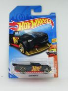 Hotwheels hot_wheels hw truck solid muscle black