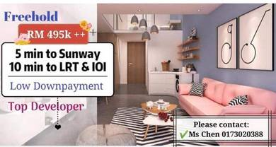 [PUCHONG] Freehold Condo with Extreme Park!! MOVE in 2019~Ohako Sunway