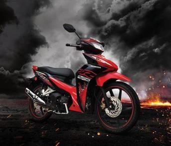 Honda dash 125 - ( deposit rendah | ready stock )