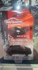 Majorette Honda Civic Type R Black color