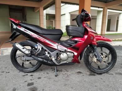2012 Yamaha 125zr 125z Merah Full Ori Cantik